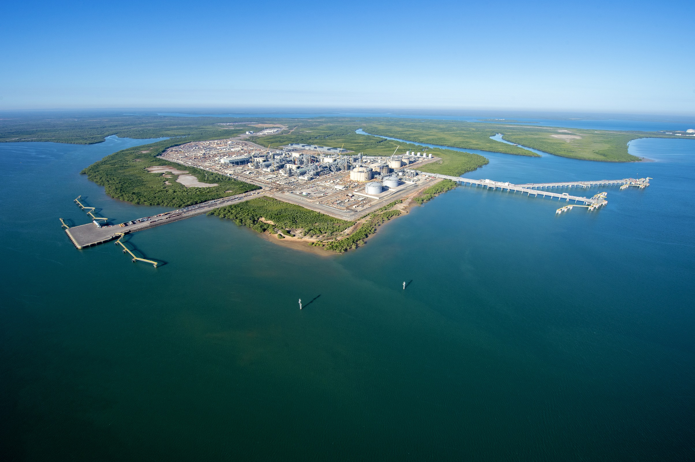 Ichthys LNG Project Bladin Point onshore facilities_July 2017 50%